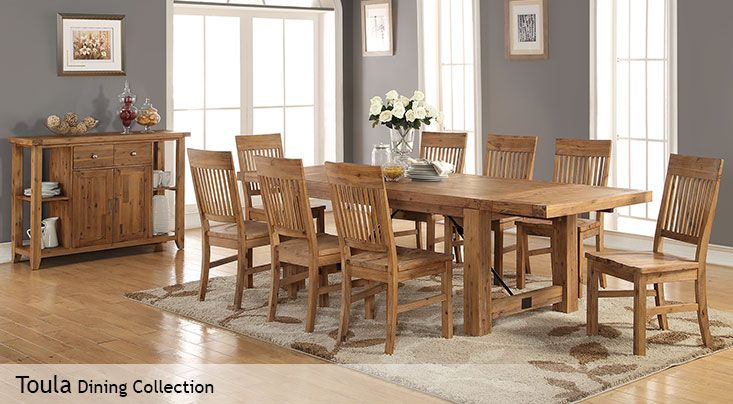 Toula Dining Collection  Back Yard  Pinterest  Dinning Table Simple Dining Room Sets Costco Design Decoration