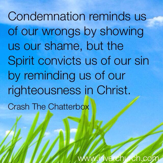 what the bible says about conviction