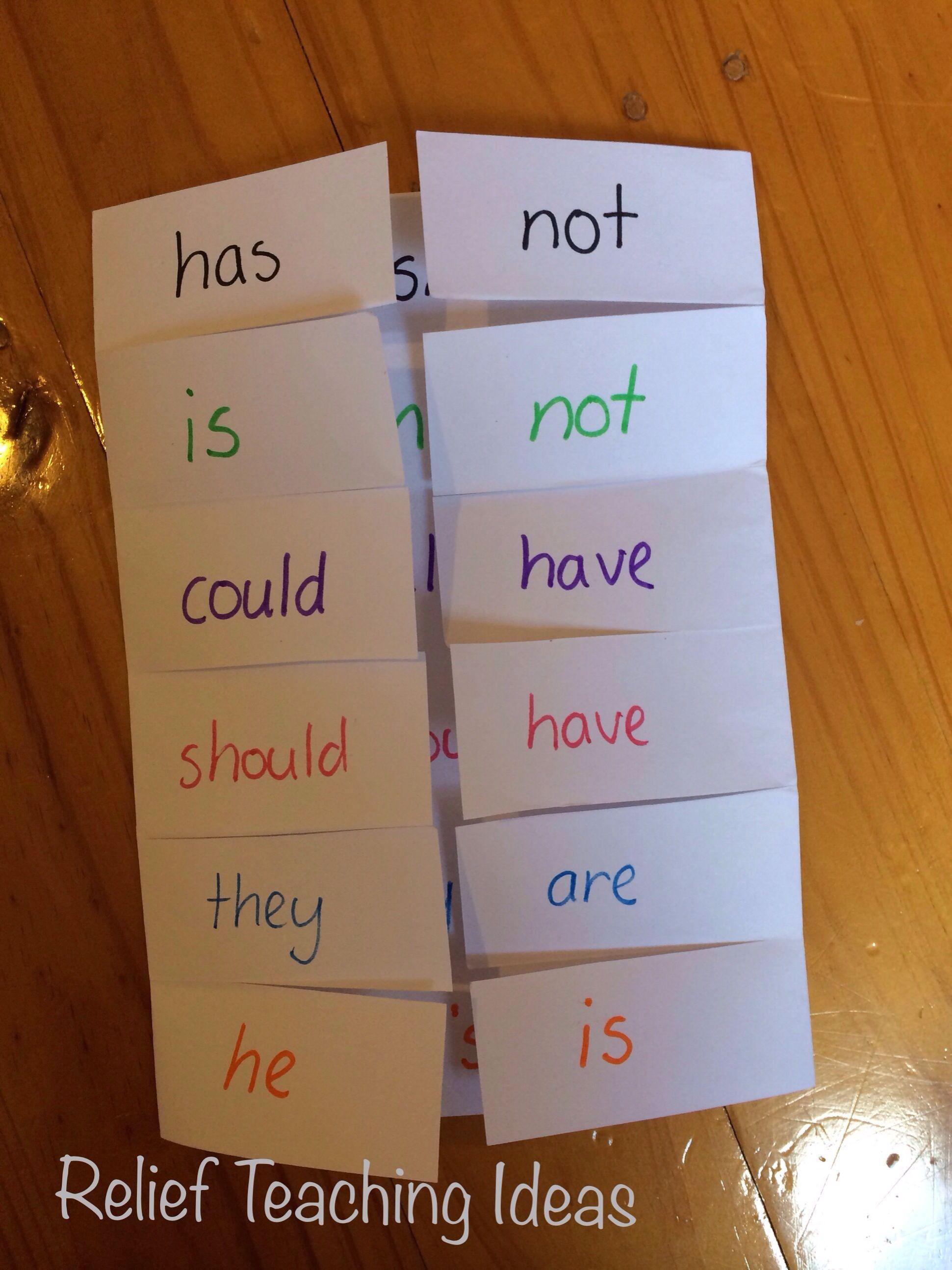 Compound Words Foldable | Teacher | Pinterest | Compound ...