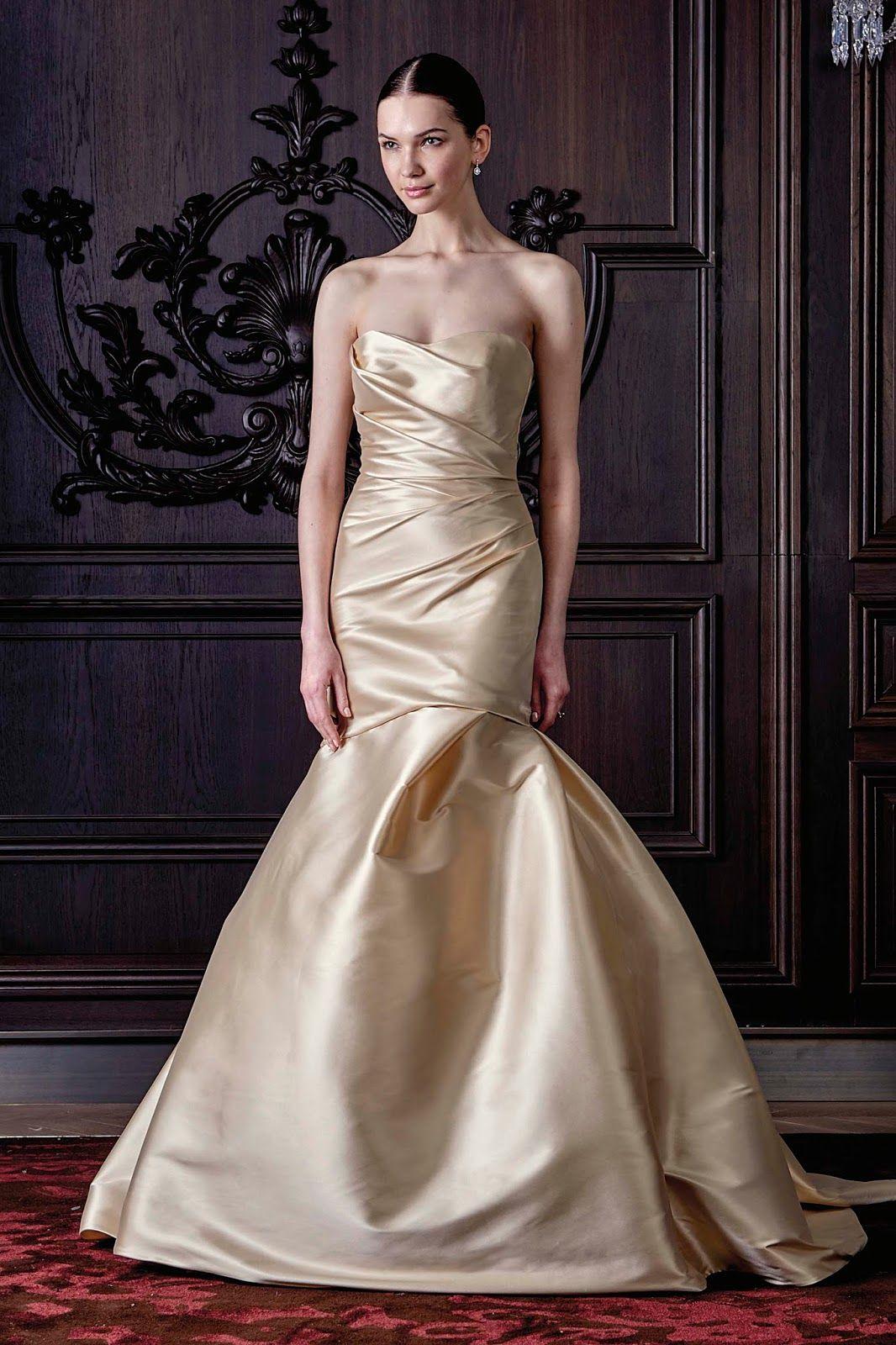 Monique Lhuillier Spring 2016 Wedding Collection. Hot