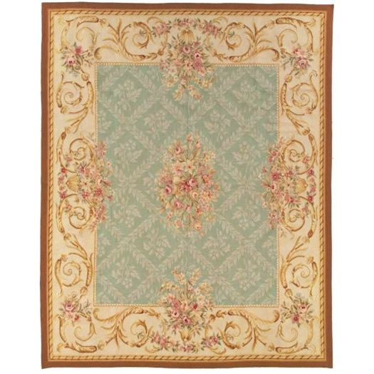 French Market Collection Avignon Blue Aubusson Rug Laylagrayce Aubusson Rugs Rugs Cotton Area Rug