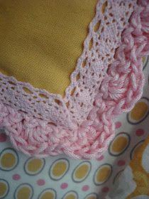 Bee In My Bonnet: New Crochet Edge Pillowcase Pattern...Plus 1 more!