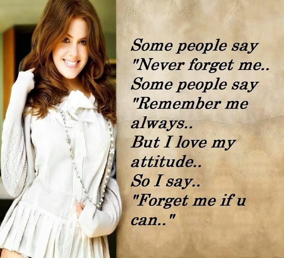 me if u can😗 Attitude status, Girly attitude
