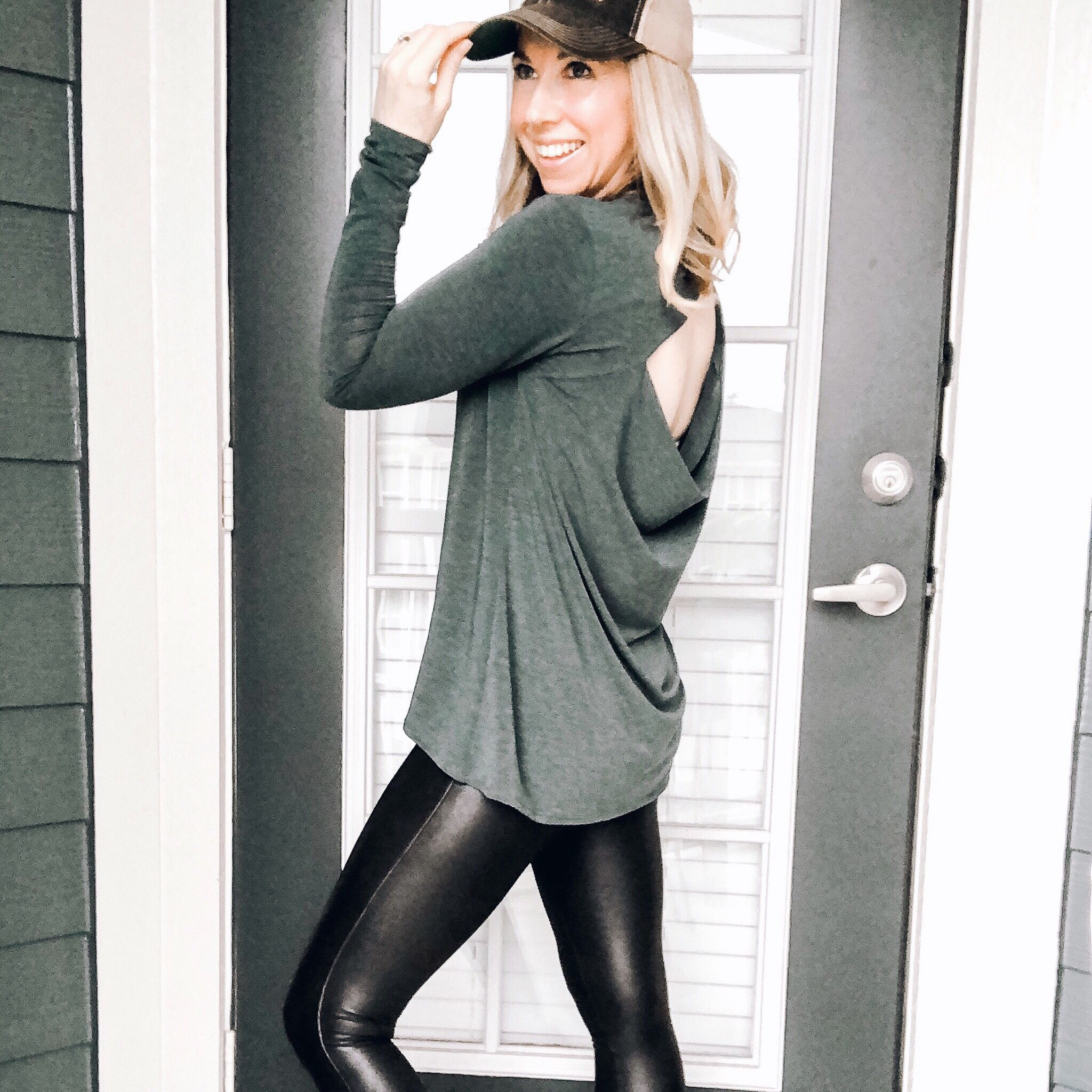9 Ways To Wear SPANX Faux Leather Leggings Spanx faux