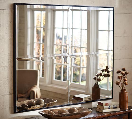 Brinkley Mirror Mirror Decor Pottery Barn Bath Furniture