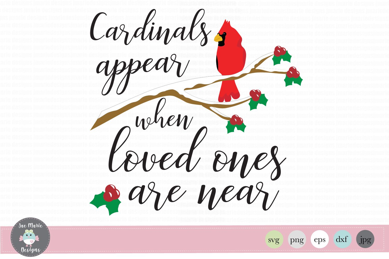 Cardinals appear when loved ones are near graphic by