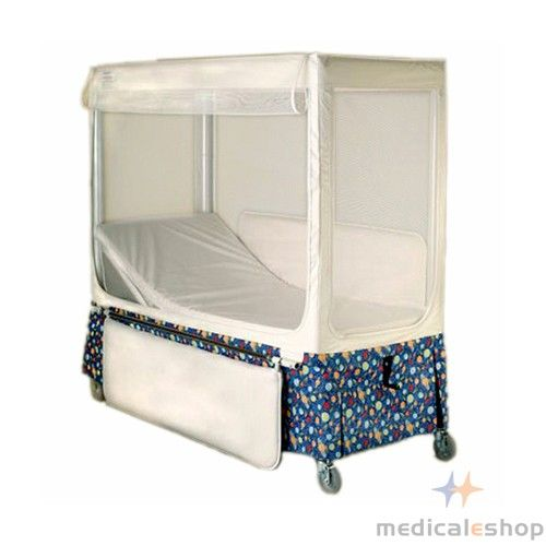 Pedicraft Height Adjustable Canopy Enclosed Bed Rehab