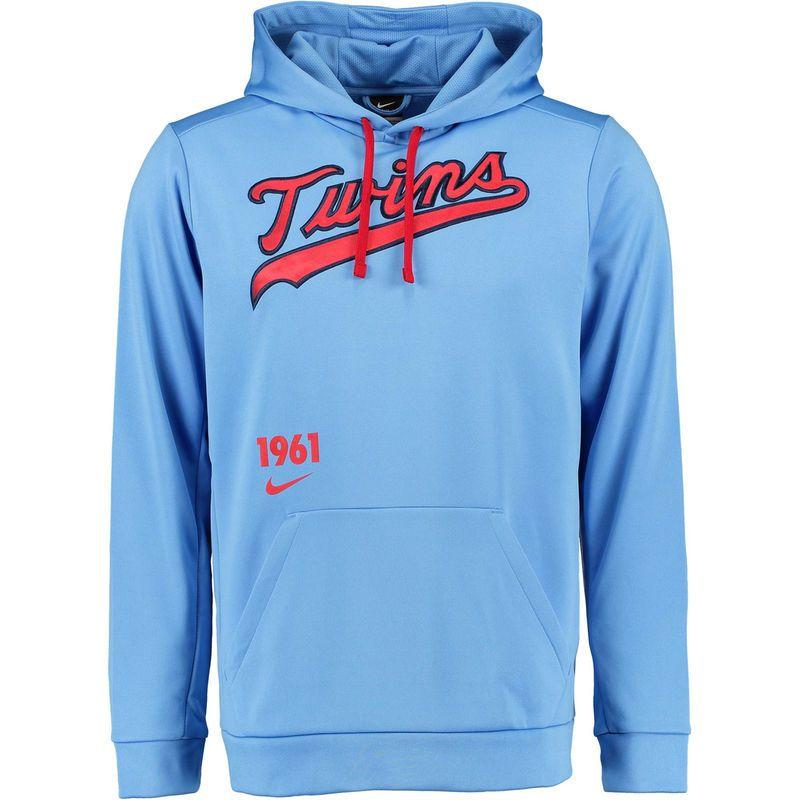 hot sale online 72c23 dda18 Minnesota Twins Nike Cooperstown Performance Pullover Hoodie ...