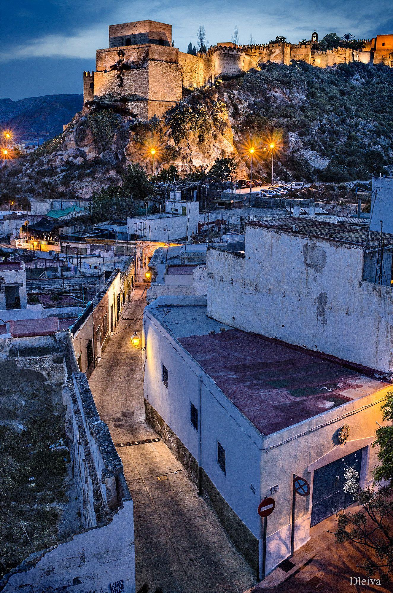 Camino De La Alcazaba Almería Spain Andalucia España Viajar Por España Almería