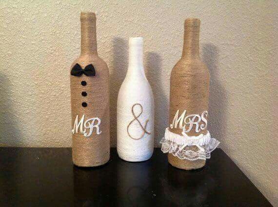 botella decorada decorations pinterest botellas. Black Bedroom Furniture Sets. Home Design Ideas