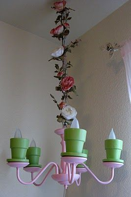 Flower Pot Chandelier