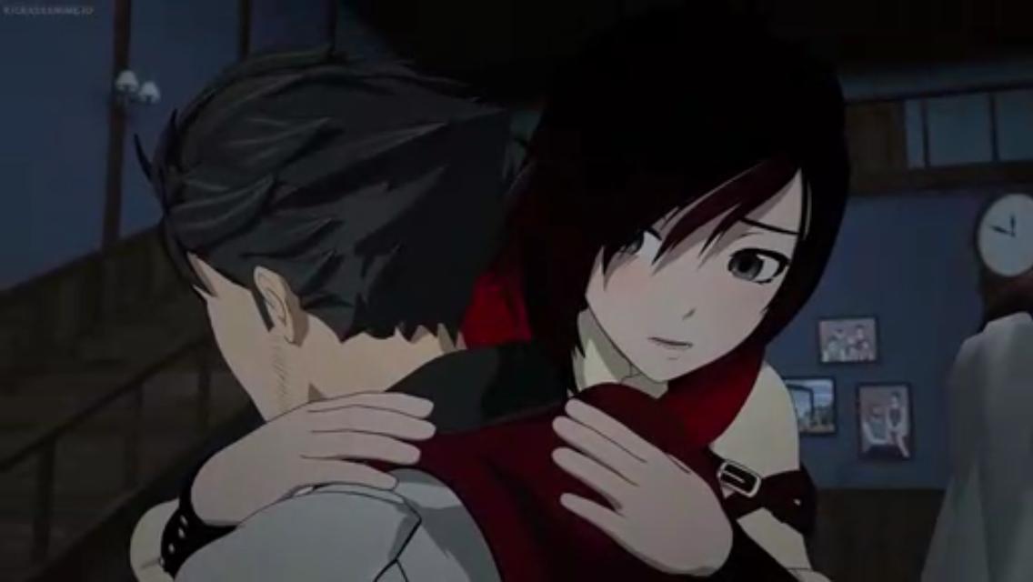 Ruby hugging qrow gives me life  Vol 6 episode 6 #rwby #rwbyvolume6