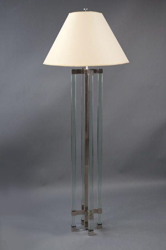 Floor lamp max ingrand 1908 1969 fontana arte italy for Sharon goldreich
