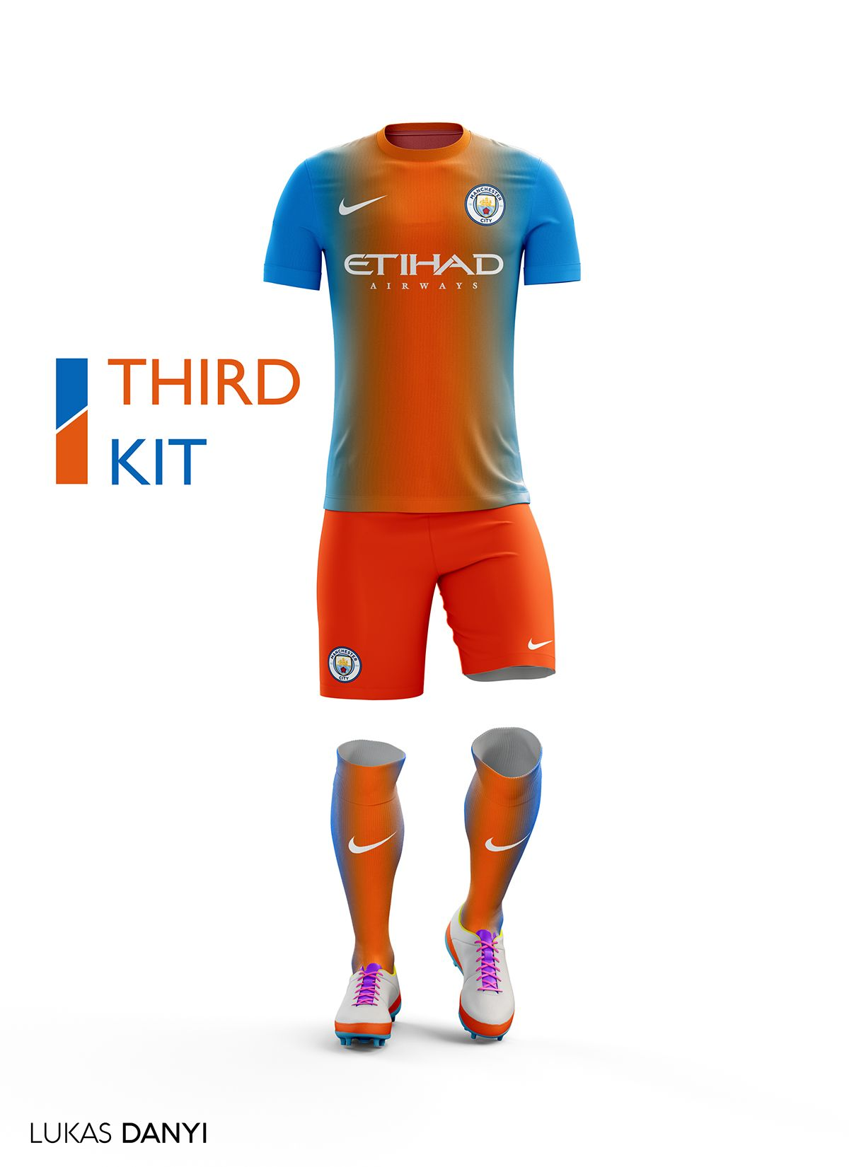 faaa2667c I designed football kits for Manchester City for the upcoming season  16 17.And I use the new logo.