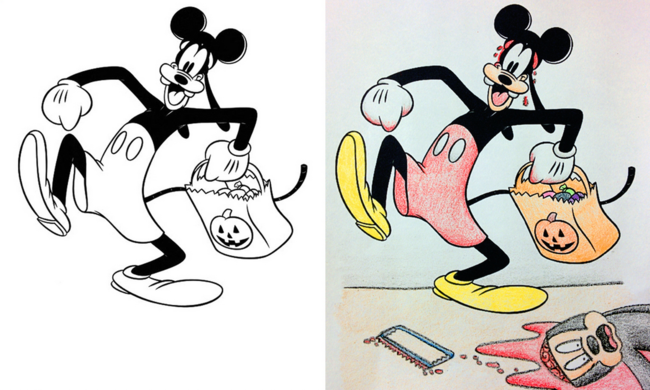 12 Disturbing Coloring Book Corruptions 33