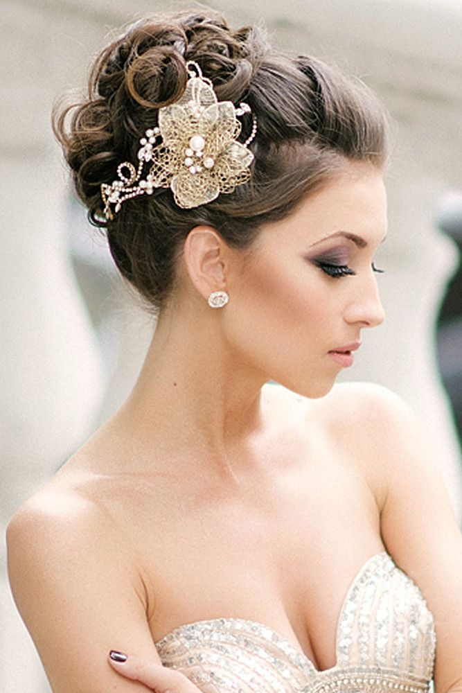 Image result for bridal updo hairstyles with veil Hairstyles