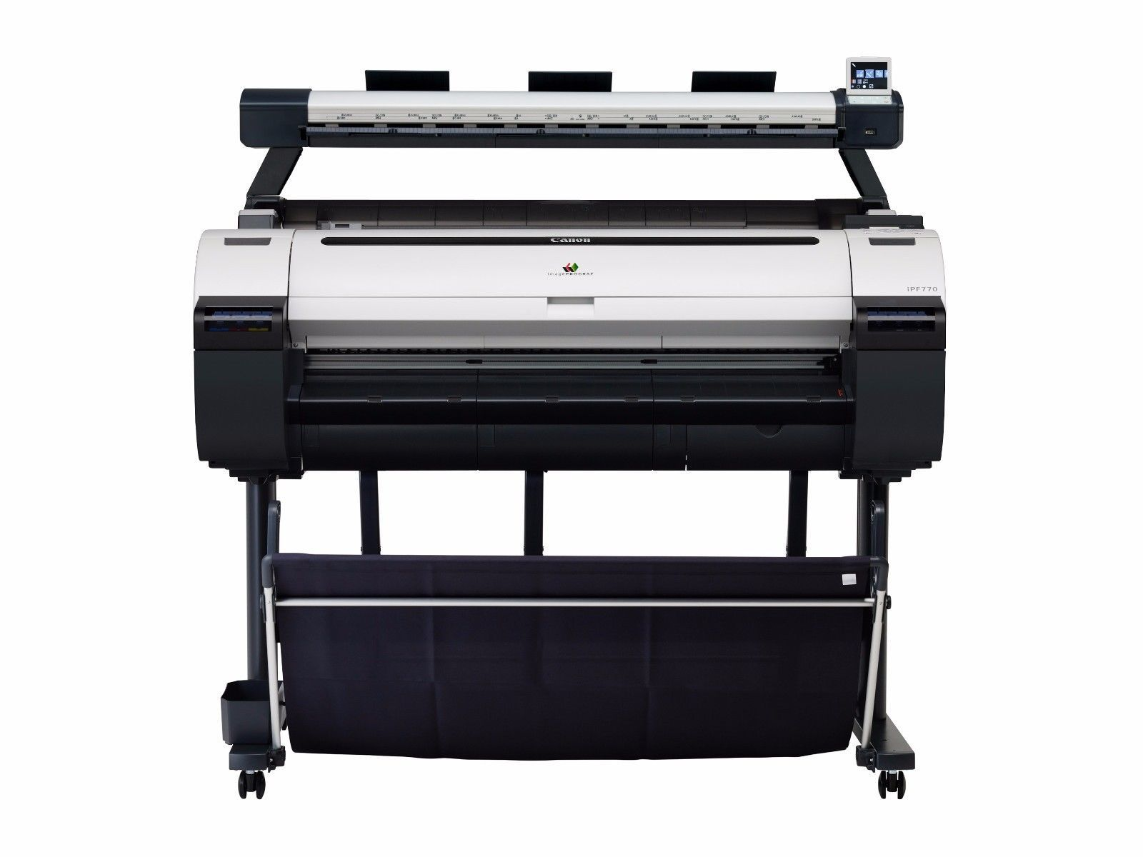 Canon ImagePROGRAF IPF770 MFP L36 36 Color Print Copy Scan Lease