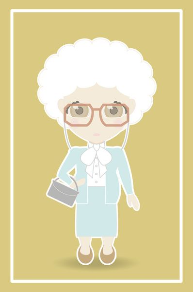 Golden Girls Sophia Petrillo Art Print By Ricky Kwong