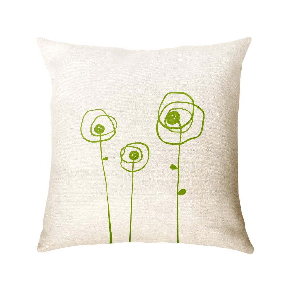 Poppies pillow square home pinterest pillows and squares