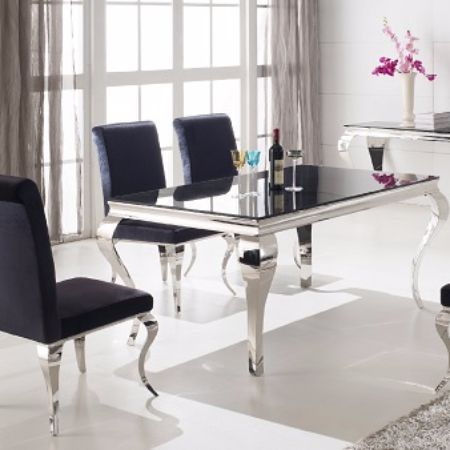 Contemporary Dining Room Tables And Chairs Prepossessing The French Contemporary Dining Table Is Sure To Impress With A Eye Decorating Design
