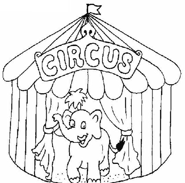 ausmalbilder zirkus windowcolor malen e1540498246806