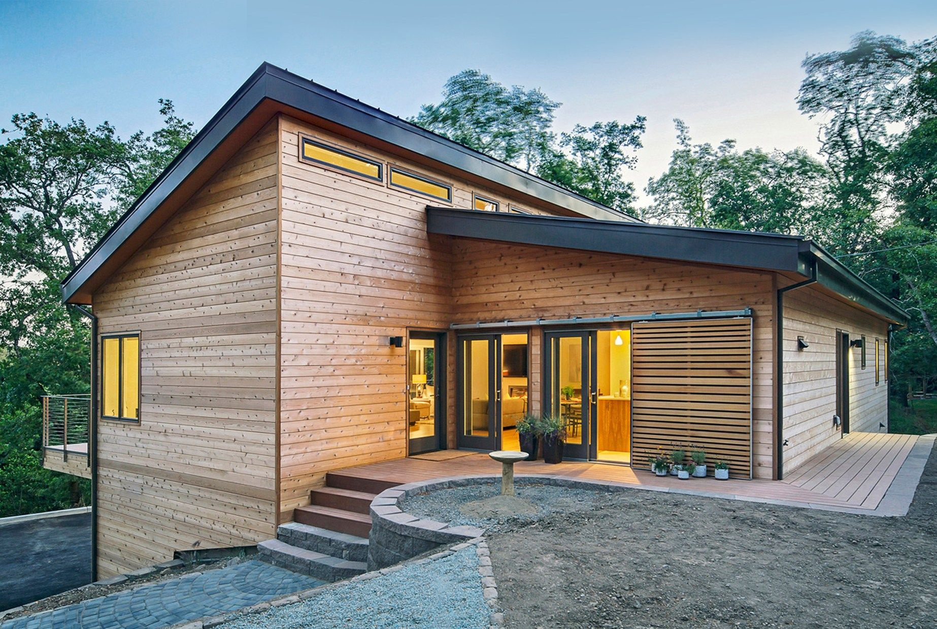 Twelve Steps To Affordable Zero Energy Home Construction And Design Zero Energy Project Modern House Exterior Generator House Zero Energy House