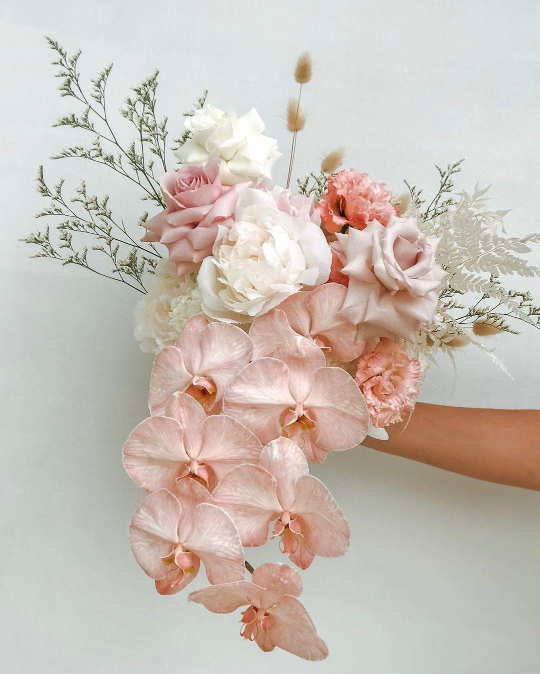 Wilderness Flowers On Instagram Fairy Floss Bouquet In 2020 Bridal Bouquet