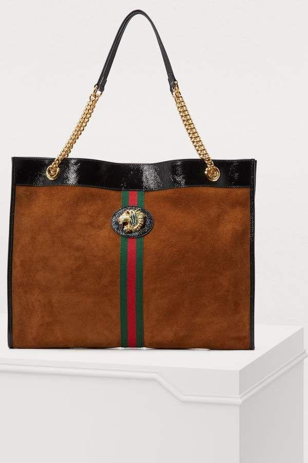 69e0ace42789 Gucci Tiger tote bag | Handbags in 2019 | Bags, Tote Bag, Gucci
