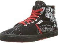 Superga Cartoon Spiderman Comic Sneaker high schwarz weiß 36 2/3 EU