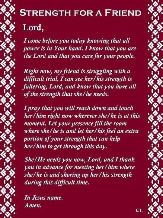 Best 25+ Prayer for a friend ideas on Pinterest | Prayers ...