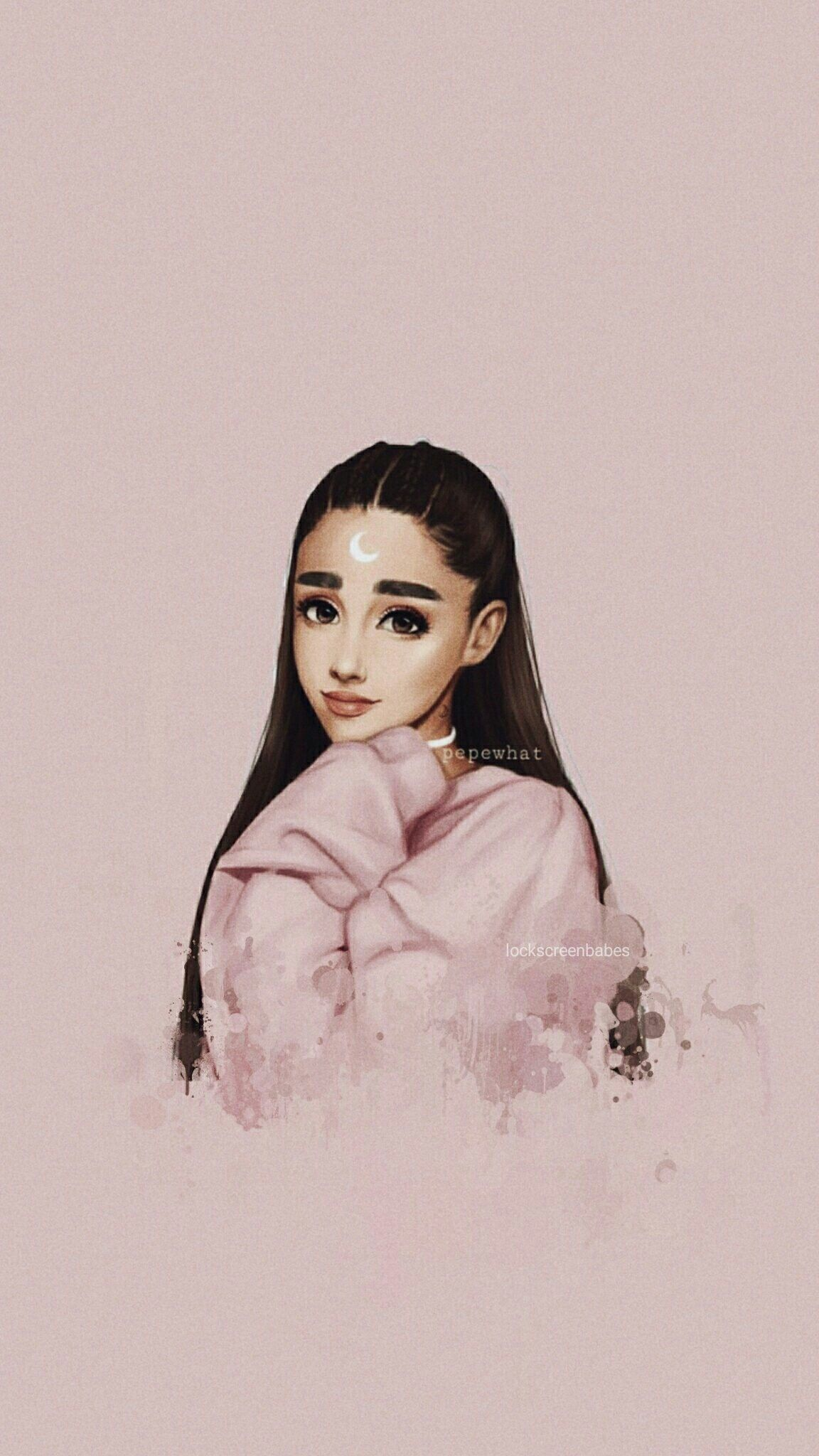 hernameismoony☄ (With images) Ariana grande wallpaper