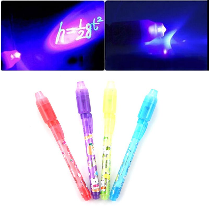 1PCS Magic 2 in 1 UV Black Light bo Creative Stationery