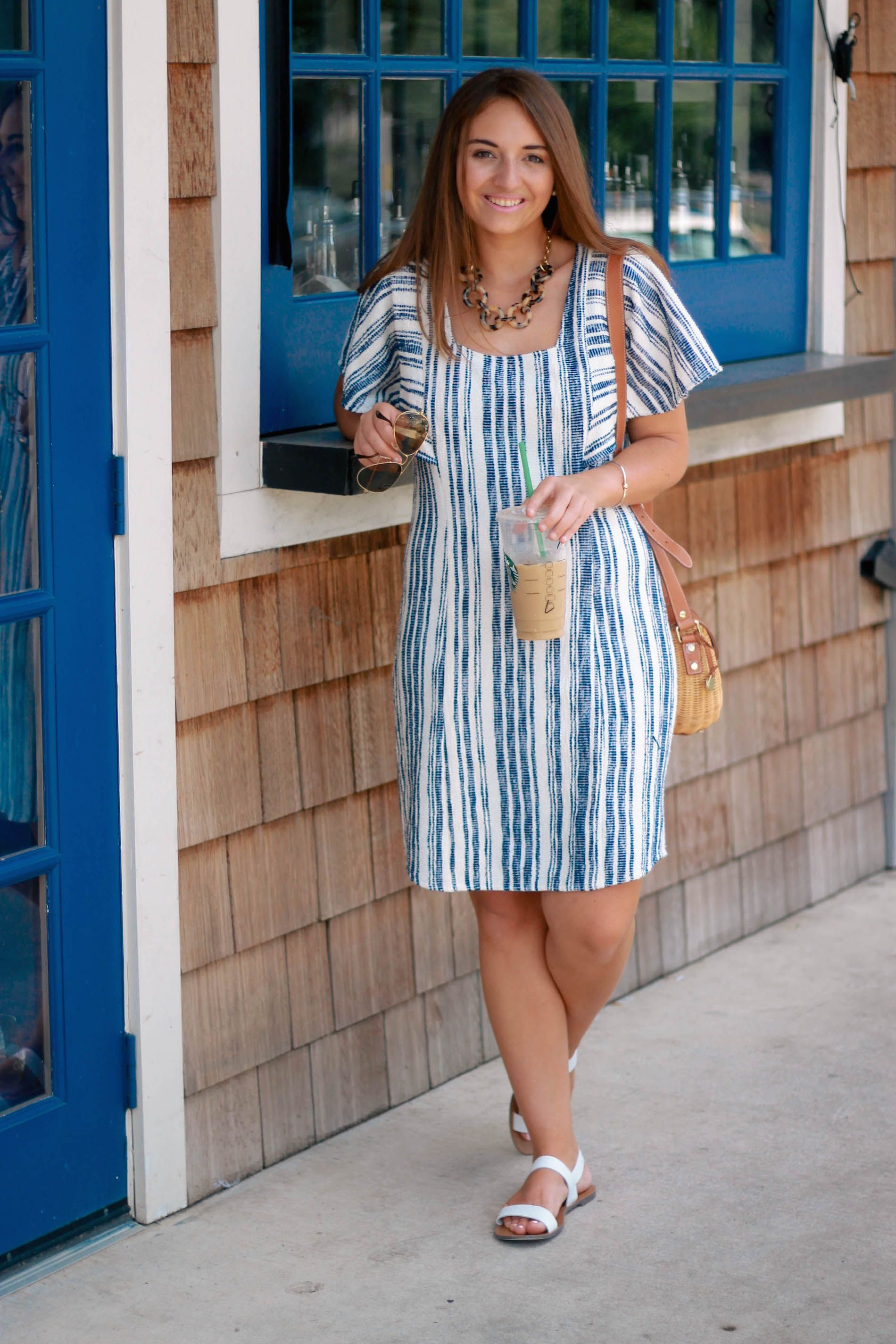80 S Summer Style The Coastal Confidence Summer Fashion Shoulder Pad Dress Style [ 2850 x 1900 Pixel ]