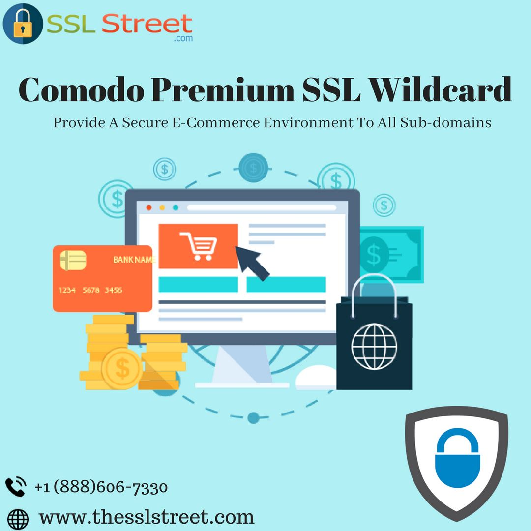 Comodo Premium Wildcard Ssl Certificate Permitting You To Secure