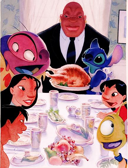 *LILO & STITCH ~ Happy Thanksgiving!