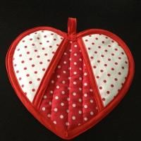 Quilting: Have a Heart Potholder