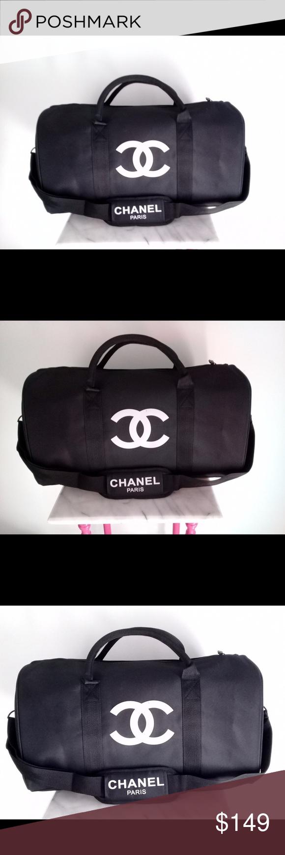 fc8b48f1a004 Chanel vip gift bag travel bag gym bag duffle bag Authentic Chanel vip gift  bag travel