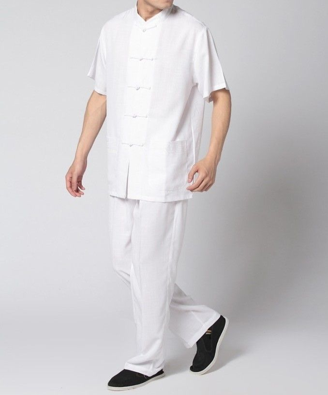 linen pants and shirts for men - pair w/ suspenders and hat for a ...