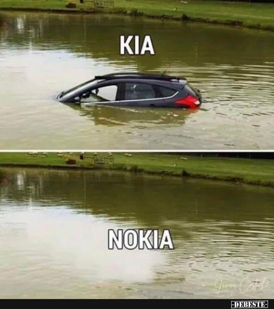 Photo of Kia / Nokia. | Funny pictures, sayings, jokes, really funny