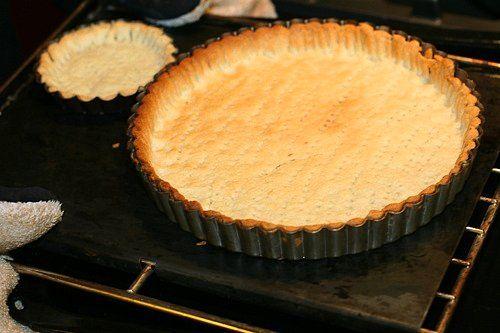 Tartteig mit im ofen gebräunter Butter