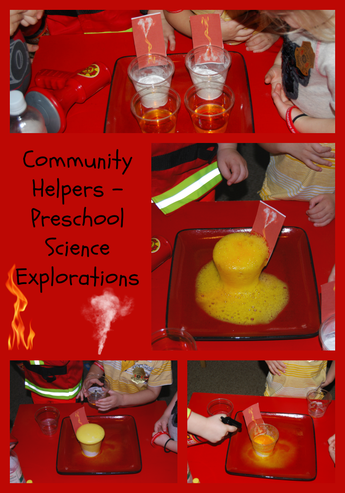 Community helpers theme for preschool bubbly fires for Health craft cookware reviews