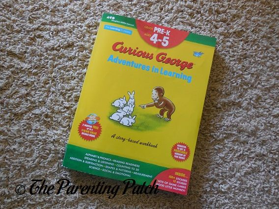 Recommended Preschool Workbooks: 'Curious George Adventures in Learning, Pre-K' | The Parenting Patch