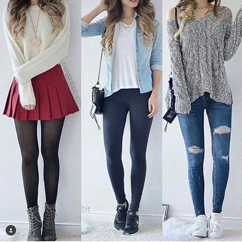 1,2 or 3  Just comment below and tag to your friends ♥ ♥ ♥ ♥ ♥ ♥ ♥ #getgirlsoutfits