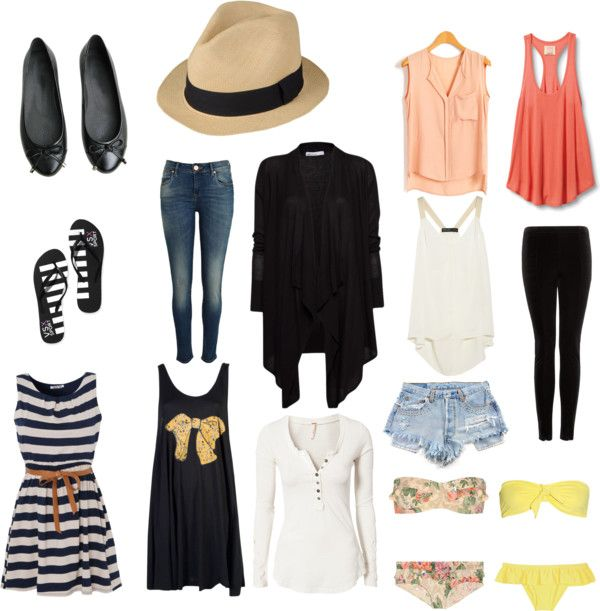 Stylish Packing List #backpacking #travel #packinglist