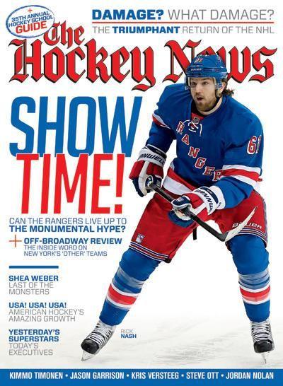 Rick Nash The Hockey News Rick Nash Cause He S Rick Nash