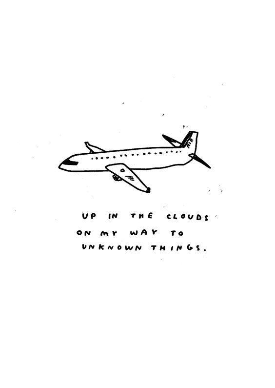 Travel Quotes - Auf dem Weg zu unbekannten Dingen in den Wolken. - #auf #dem #den #Dingen #Quotes #Travel #unbekannten #Weg #Wolken #zu