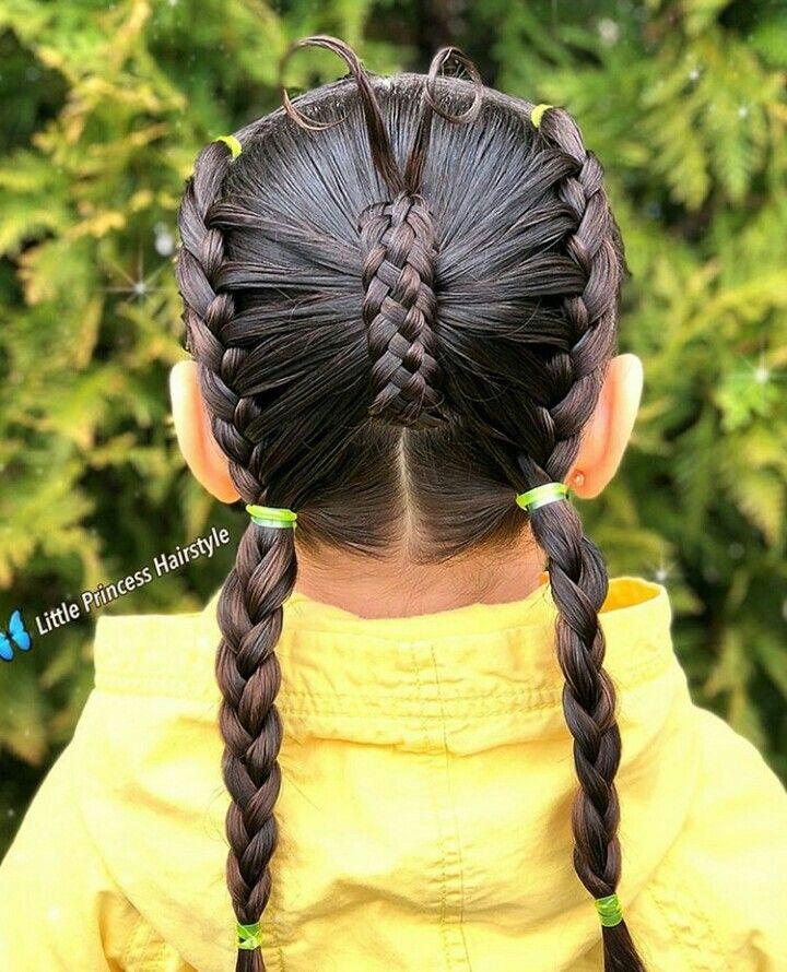 Clásico y sencillo peinados bellos Colección De Cortes De Pelo Consejos - Pin de letty en hair styles   Peinados infantiles ...