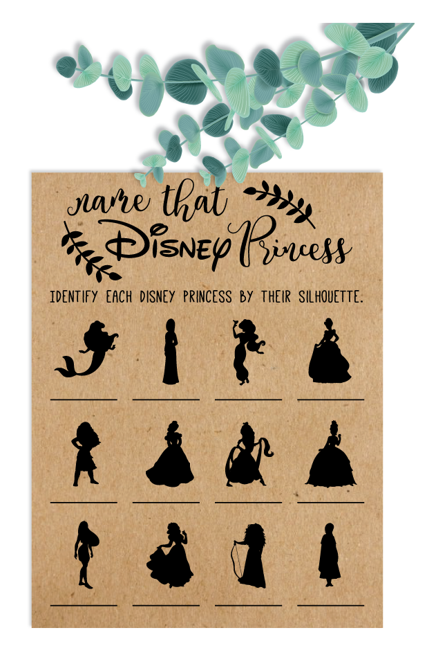 Coming Out On Top Phil Trivia Answers Name That Disney Princess Bridal Shower Game Disney Bridal Shower Games Wedding Shower Game Disney Princess Disney Wedding Disney Themed Bridal Shower Disney Bridal Showers Princess Bridal Showers