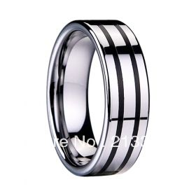 FREE SHIPPING USA HOT SELLING EC TUNGSTEN JEWELRY TUNGSTEN BLACK