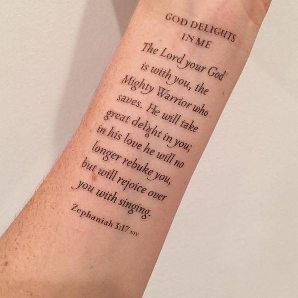 tatouage verset biblique | tatouages | pinterest | bible verse